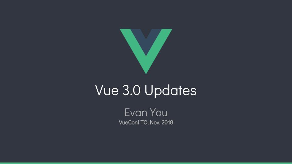 Vue.js 3.0 新特性预览
